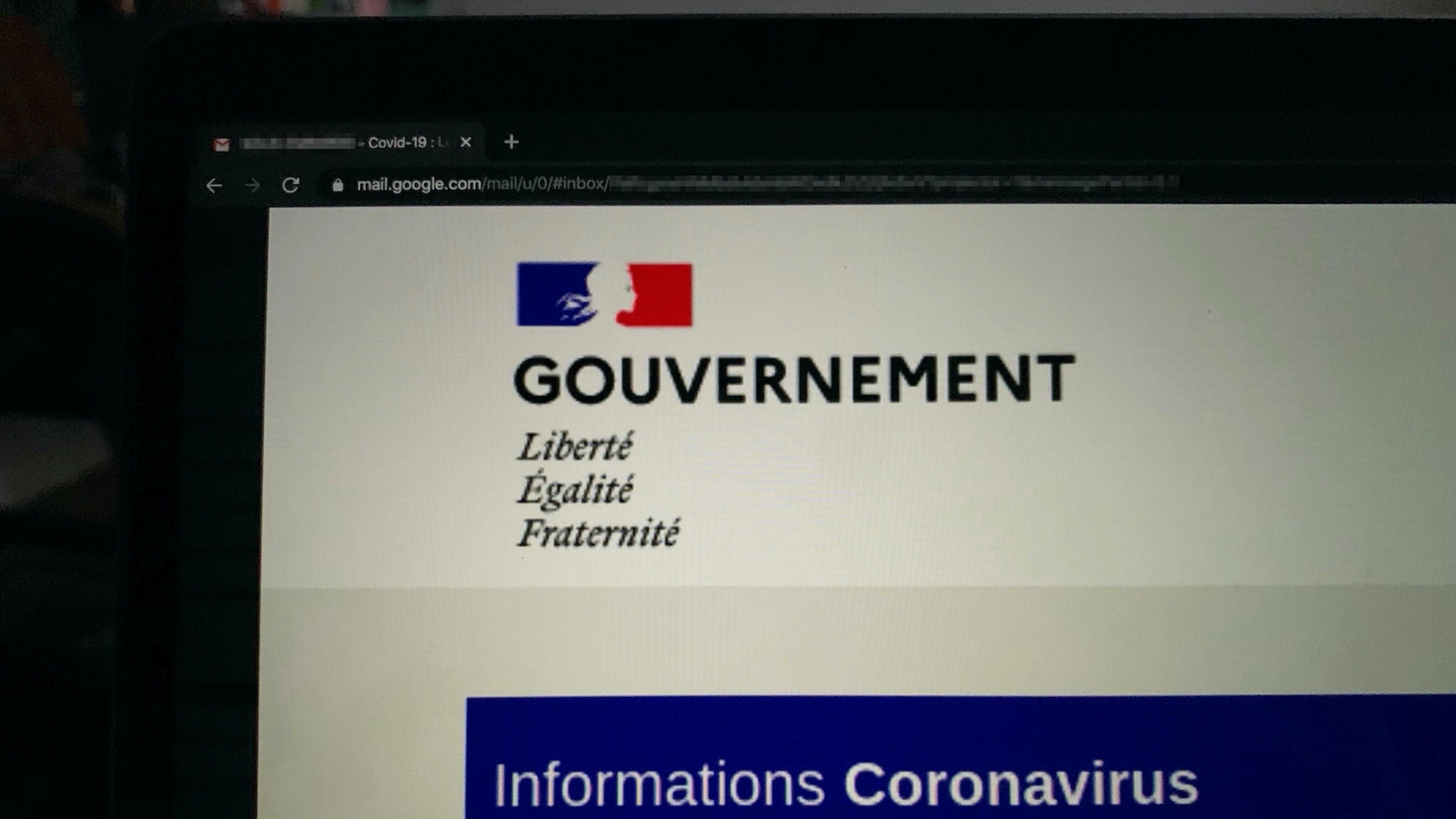 Phishing: des cybercriminels ont fait miroiter une fausse aide financière du gouvernement français